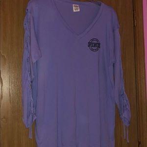 L/S pink shirt